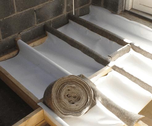 Silentwool floor soundproofing ecostore for Floor joist insulation