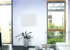 Herschel infrared heating panel