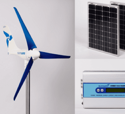 SilentWind Hybrid renewable electrical generation kit