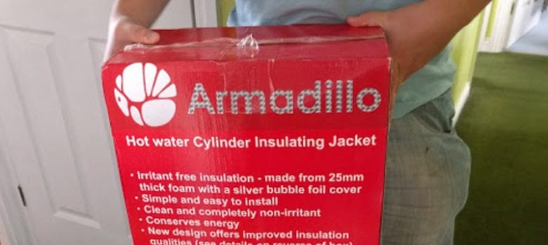 The Armadillo Hot Water Cylinder Jacket – Review