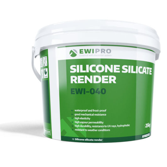 EWI Pro Silicone Silicate Render