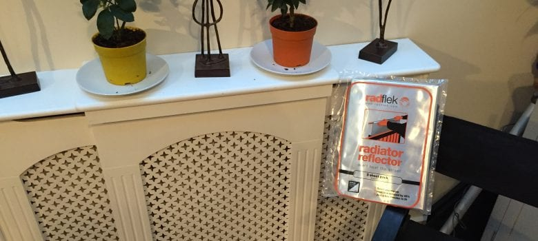 How to install Radflek radiator reflectors
