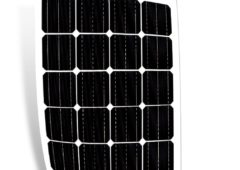 Going camping? Take a flexible solar panel!