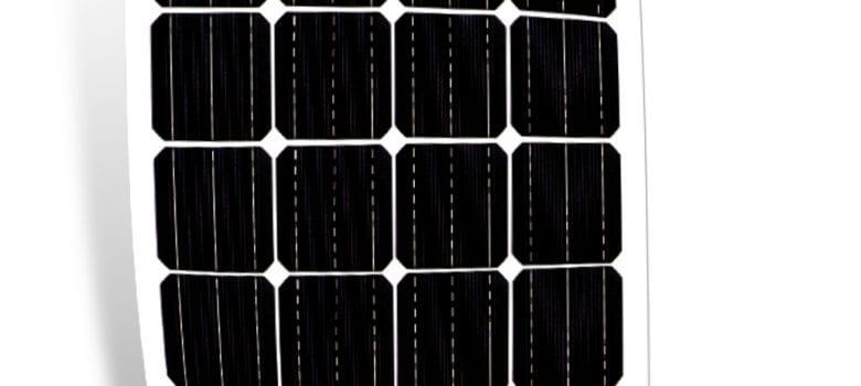 Get yourself a flexible solar panel!