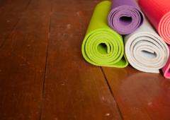 How should I heat my yoga studio?