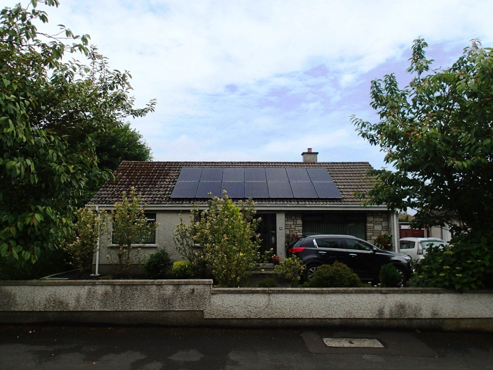 4kWp solar array installed in Coleraine