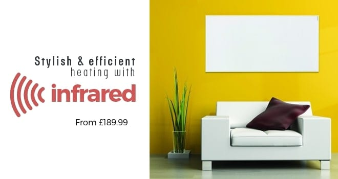 Stylish & Efficient heating with Herschel Infrared